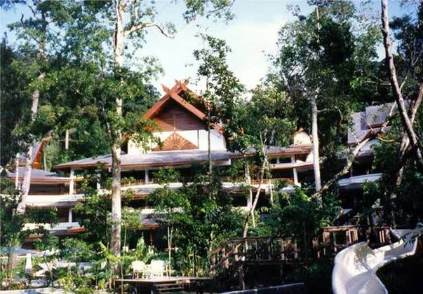 Andaman Resort Nature Spa View Of The Pool Integrated With
