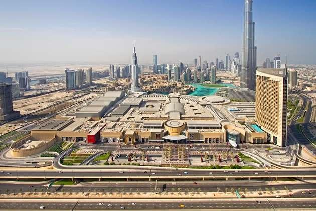 Dubai Mall The Grand Entrance Archnet