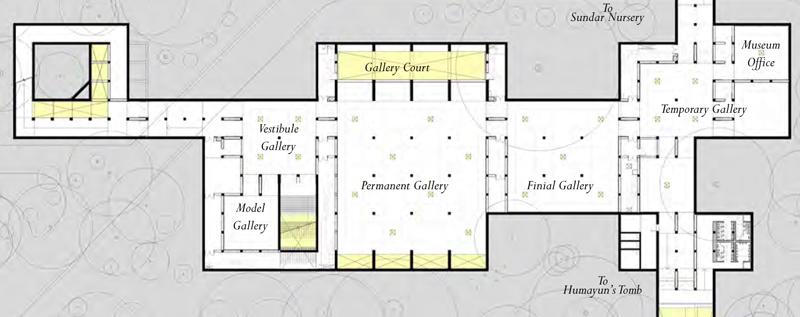 Humayun S Tomb Site Museum Floor Plan Of The Underground