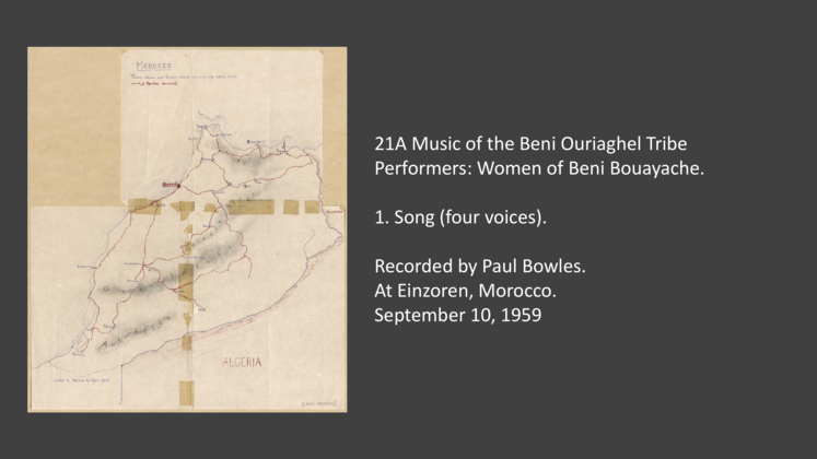 Collections | | Recording Location: Einzoren | 21A-1 Song Music of