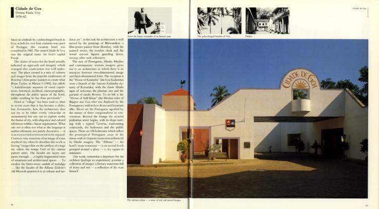 Charles Correa: Cidade de Goa | Archnet