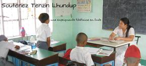 Ling Gesar School : Financement d'une enseignante tibétaine en Inde