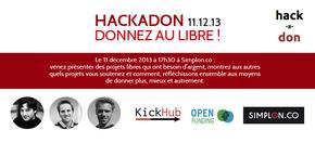 Hackadon/111213 : Faites des dons à des projets libres !