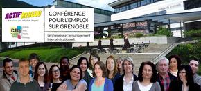 Conférence pour l'emploi sur Grenoble : L'entreprise et le management intergénérationnel.