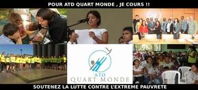 Pour ATD Quart Monde, je cours ! : Soutenez la lutte contre l'extrême pauvreté