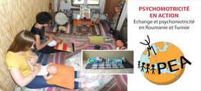 Psychomotricité En Action  : Echange et psychomotricité en Roumanie et Tunisie