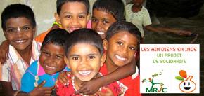 Les Ain'diens en Inde : Un projet de solidarité en Inde