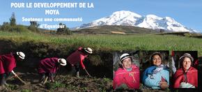 Pour le développement de La Moya : Soutenez une communauté indigène d'Equateur !