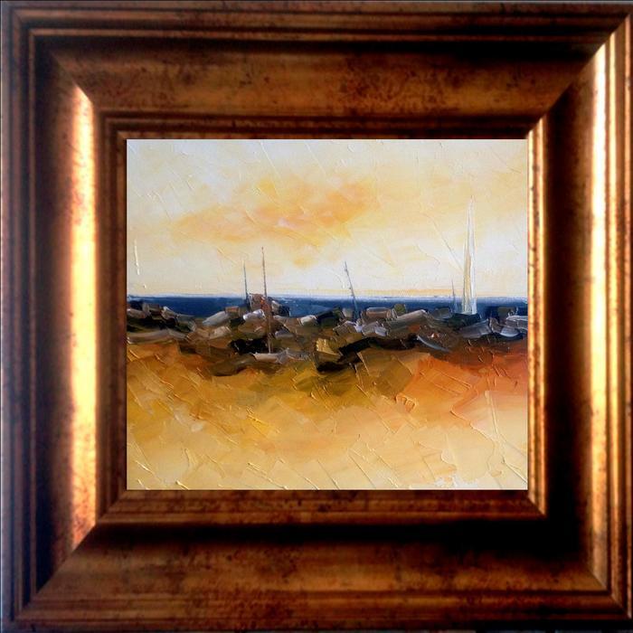 Barcos en la playa