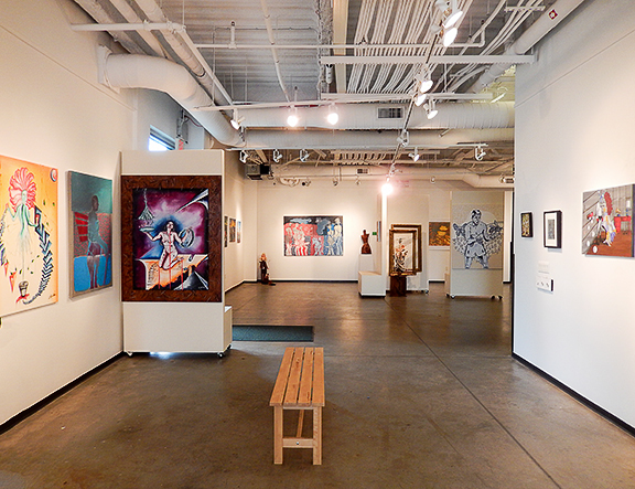 Surreal Abstract Expressions exhibition at Artspace Long Island