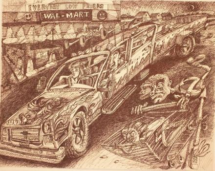 Lucero--walmart-lot