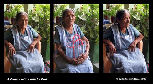 A_conversation_with_la_dona
