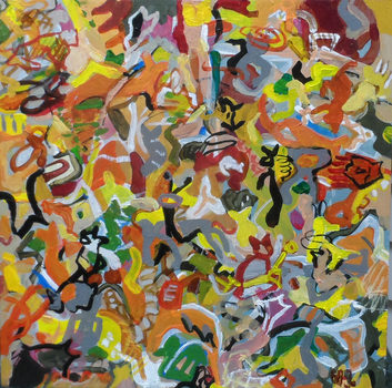 20170111171233-grazyna_adamska-jarecka__acorns_and_lemons__acrylic_on_wooden_panel__8_x_8_inches__2016