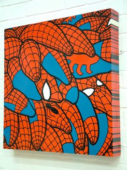 20170116204740-spidie_segments_gloss_painting_spiderman_costume_inspired_pods_super_hero_comic_book_on_mdf_box_structure_line_drawing_by_artist_wayne_chisnall