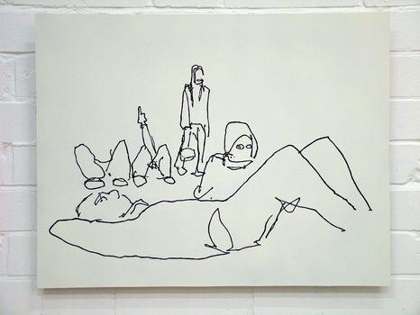 20170116204805-sun_worshipers__1_black_gloss_painting_drawing_on_white_on_primed_aluminium_sheet_by_artist_wayne_chisnall