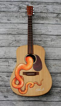 20170116222616-martin_and_co_drednaught_guitar_customised_with_orange_tentacle_acrylic_painting_design_signed_by_uk_artist_wayne_chisnall__2_