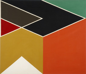 Larry_zox__due_east__1966__acrylic_on_canvas__1830_x_2134_mm