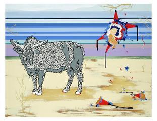 Lopez1_bull_and_pinata