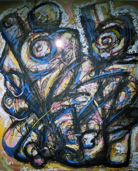 Familia___mixed_media_on_paper_22x28_in