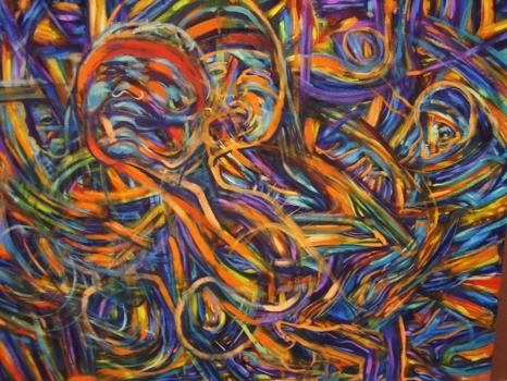 La_fuerza__oil_on_canvas