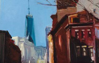 20170923171452-raab__leah_freedom_tower_behind_the_old_tenaments_acrylic_on_canvas_20x30