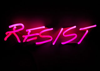 20171221190344-indira_cesarine_-_resist__pink__2017_-_neon_light_art_-_one_year_of_resistance_-_the_untitled_space