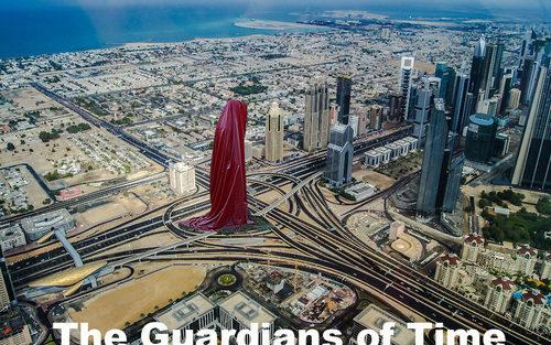 20171222135134-dubai-art-design-architecture-gallery-museum-sheikh-monk-guardians-of-time-sculpture-tower-hous-of-art-manfred-kielnhofer-kili