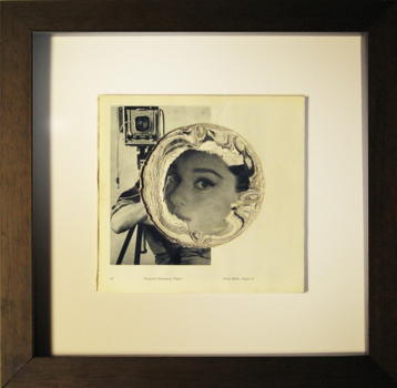 7__audrey_hepburn__-_sanded_photography_book_-_40cm_x_39cm__framed__-_2008