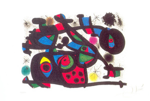 Joan mir artslant for Joan miro interieur hollandais