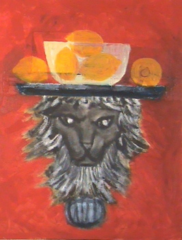 Lion_with_lemons
