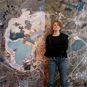 Sudbury_tailings_pond_with_artist_3