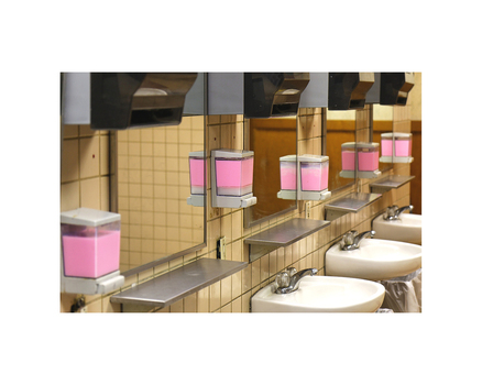 Pink_soap_dispensers