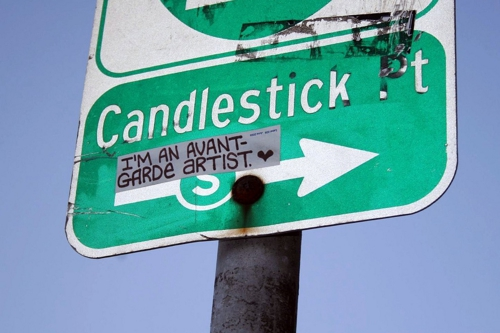 Avantgarde-candlestick