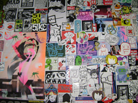 Stickerwall