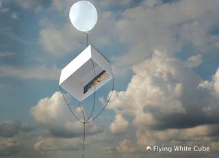 Flyingwhitecube