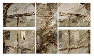New_year__triptych___5_parts___2008__mixed_media_on_canvas__100x160_cm