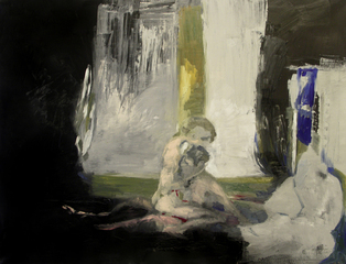 Lovers_-2008_-oil_on_canvas-100x130cm