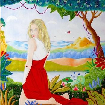 La_p_tite_grenouille_blue_jean_aupr_s_de_sa_blonde_50_x_50