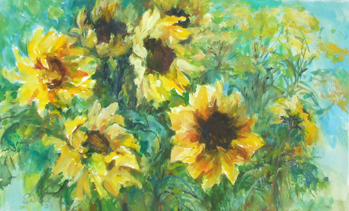 Valerie_sadler_sunflowers_1
