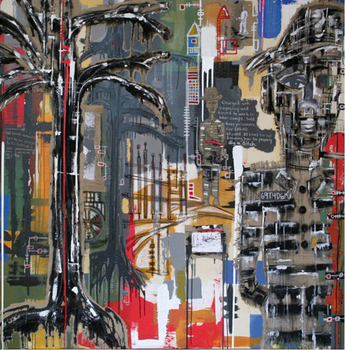 Dixon_re-enslavement_78x78_mixed_media_2008