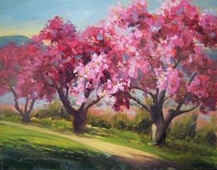 Bright_boscobel_blossoms_11x14_oils