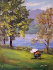 Jamieartist_at_work_on_the_hudson_8x6_oils