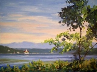 Jamieesopus_lighthouse_from_mills_mansion_12x16_oils