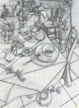 Looking_down_upon_tabletop_conte_crayon_with_gesso_46inx36in_