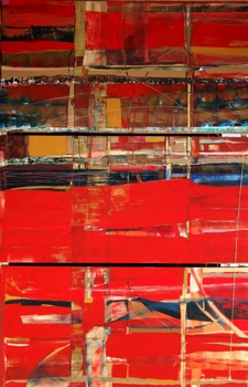 Silvana_lacreta_ravena_-_red_sight_-_acrylic_on_canvas_-_tryptic_-__72_x_47_in_total__2005