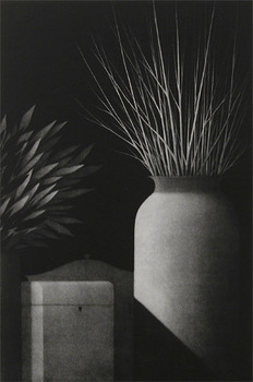 Nocturne-_still_life_w_two_vases