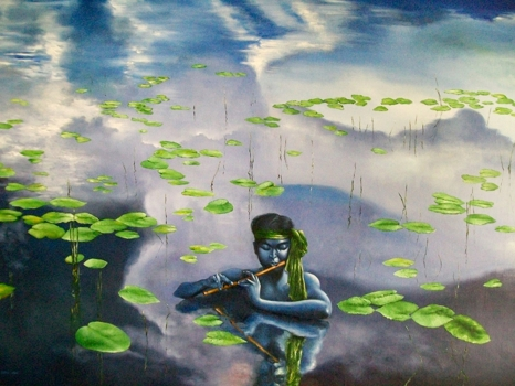 Krishna-oil_on_canvas-48x36inch