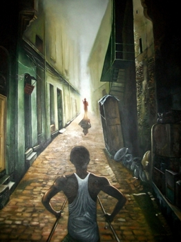 Road_to_peace-oil_on_canvas-36x48inch