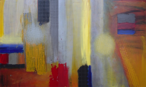 Gray_yellow_events__diptych_