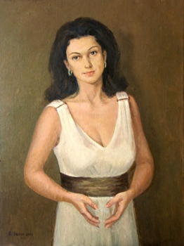 Portrait_of_a_young_woman__2009_60x80cm_oil_on_canvas